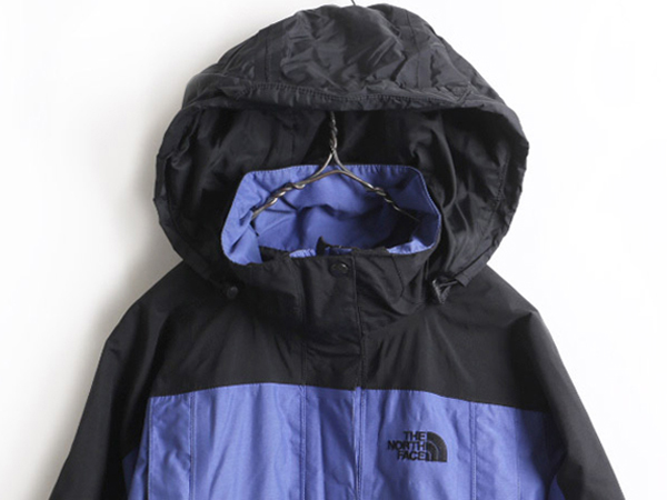 2 The North Face rare S ■ North Face storing food HyVent liner tone nylon parka jacket (lady's woman) old clothes | belonging to Used