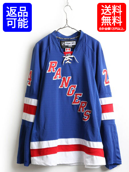 finest selection f686c ead29 ■ Reebok Reebok NHL official RANGERS New York Rangers hockey jersey (men's  size XXL 程 which 54 has a big) | made in Canada Used hockey jersey hockey  ...