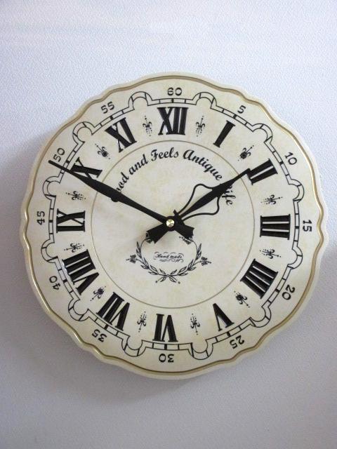 ラウンド壁掛け時計♪wa276【ウォールクロック】【デザイン時計】【おしゃれ】
