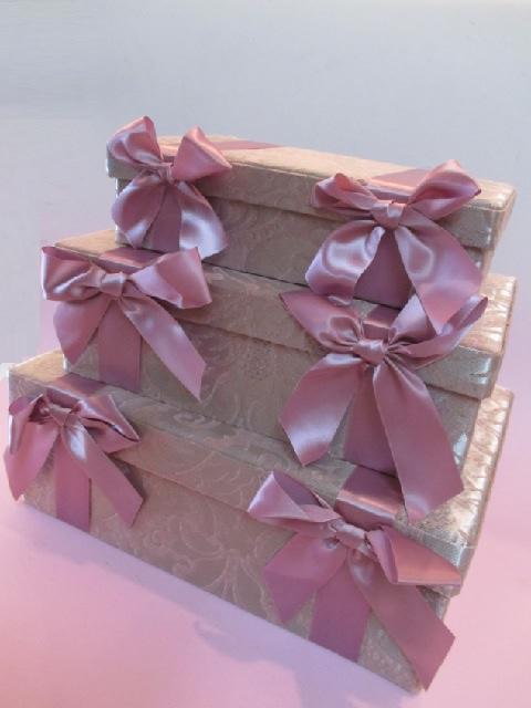 収納ボックス プリンセス クラシカル リボングレースボックス3個セットfs511pk【クラシカル】【新生活】【ラグジュアリー】