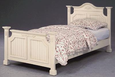 ホワイト家具 ロマンチック 姫系 白い 白家具 サイドボード 寝具 寝室 ベッド シンプル インテリアホワイトシングルベッド♪wh2110【大人カワイイ】【新生活】【ラグジュアリー】