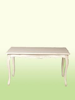 フィオーレダイニングテーブルL♪wh262【白・ホワイト家具】【シンプル】【ナチュラル】【スクエア】