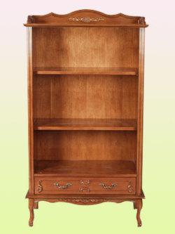 フィオーレブックシェルフsr20【木製家具】【収納棚】【イタリア製】【本棚】【茶色・ブラウン】【シンプル】