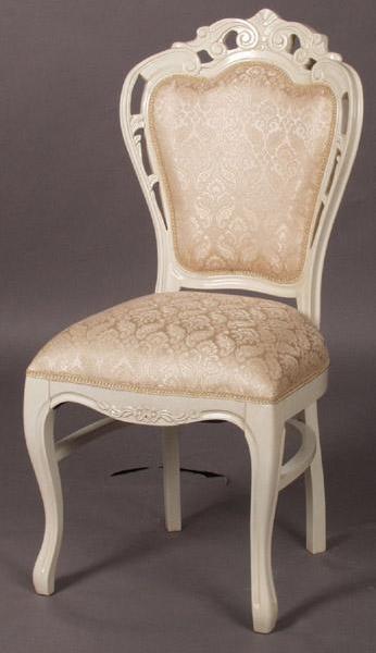 ホワイト家具 ロマンチック 姫系 白い 白家具 チェスト 収納 ダイニング チェア 椅子 いすホワイトクラシックチェアch29◆◆【大人カワイイ】【新生活】
