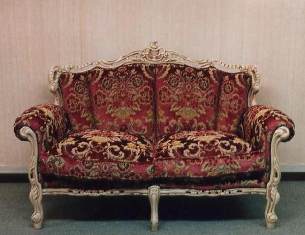ロマンチック 姫系 ビクトリア2Pソファ-ch41【輸入家具】【大人カワイイ】【新生活】
