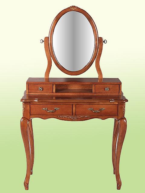 フィオーレプリンセスドレッサー♪dr40【イタリア製】【木製家具】【クラシック家具】【西洋】【茶色・ブラウン】