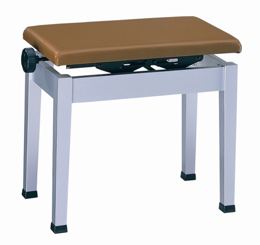 【ピアノ購入者限定】10F-4 デジタルピアノ用椅子 K48 シルバー