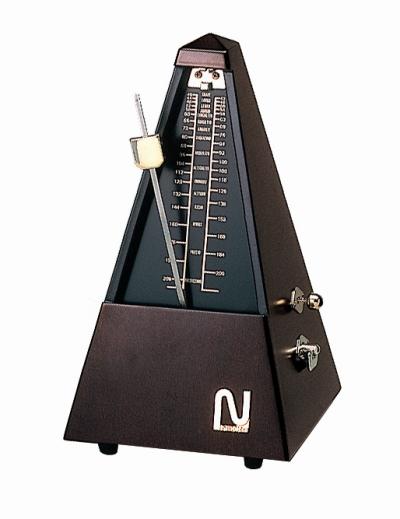 【ピアノ購入者限定】87F-4 ニッコー メトロノーム(木製) ゴールド No.102