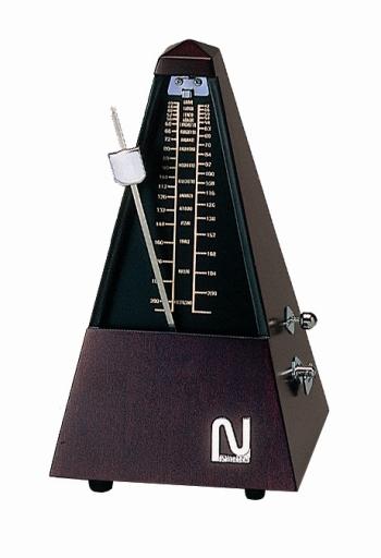 【ピアノ購入者限定】87F-5 ニッコー メトロノーム(木製) シルバー No.101