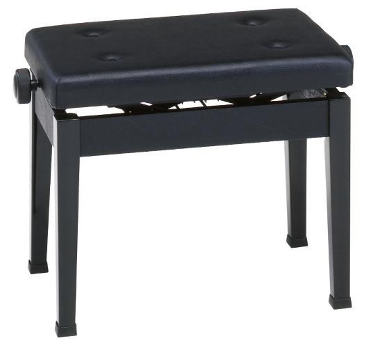 【ピアノ購入者限定】9F-2 ピアノ椅子 AW55-S 黒塗
