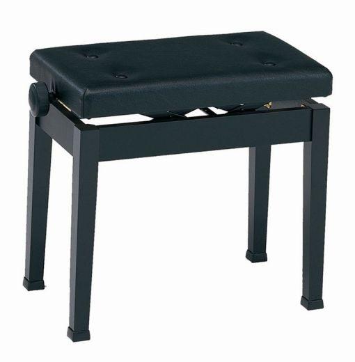 【ピアノ購入者限定】9F-3 ピアノ椅子 K50-D 黒塗