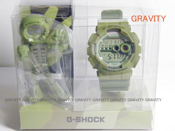 CASIO(カシオ) G-SHOCK(ジーショック) GD-100PS-3JR  play set products(プレイセットプロダクツ)G-SHOCK MAN BOX(メンボックス)フィギュア付き 中野シロウデザインモデル  【未使用品】