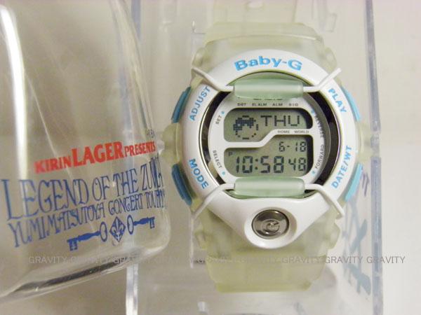 CASIO(カシオ)Baby-G(べビージー)1998 YUMI MATSUTOYA CONCERT TOUR LEGEND OF THE ZUVUYA 松任谷由実 コンサート限定モデル【未使用品】