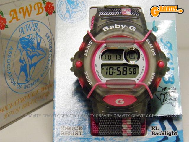 CASIO(カシオ) Baby-G(ベイビージー) BG-340AW-4AT AWB 女子ボディーボード協会モデル ピンク【未使用品】