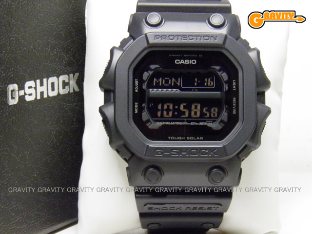 国内正規品 CASIO(カシオ) G-SHOCK(ジーショック)GXW-56BB-1JF ブラックカラー GX Series(ジーエックスシリーズ) 電波ソーラーモデル マルチバンド6【未使用品】