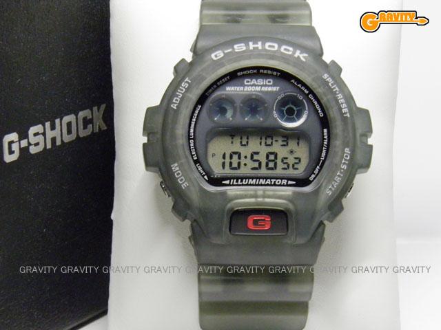 CASIO(カシオ) G-SHOCK(ジーショック)DW-069(DW-6900)グレースケルトン・ホワイトロゴモデル 海外専売【未使用品】