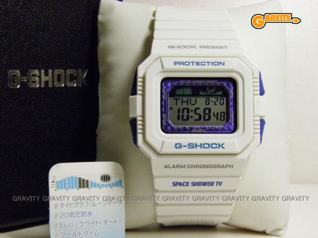CASIO(カシオ) G-SHOCK(ジーショック)珍品 非売品 GLX-5500-7JF 音楽番組専門チャンネル SPACE SHOWER TV別注モデル 【未使用品】