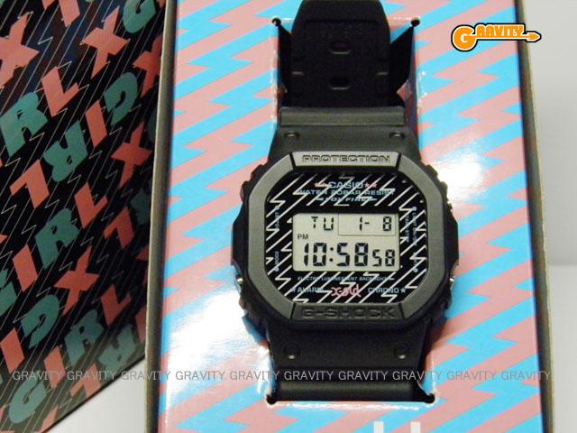 CASIO(カシオ) G-SHOCK(ジーショック) X-girl(エックスガール)2012年モデル DW-5600【極美中古】