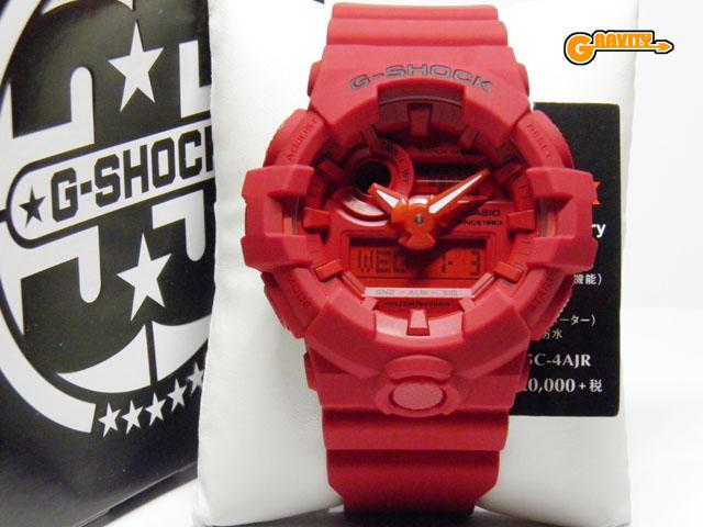 CASIO(カシオ)G-SHOCK(ジーショック)GA-735C-4AJR RED OUT(レッドアウト)35周年アニバーサリー ビックケースモデル【未使用品】