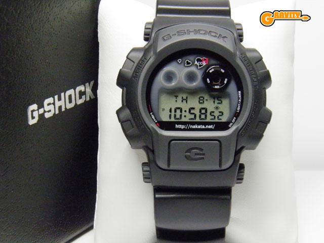 CASIO(カシオ)G-SHOCK(ジーショック)Gショック DW-8400 中田英寿モデル MUDMAN(マッドマン)マッドレジスト構造【極美中古】