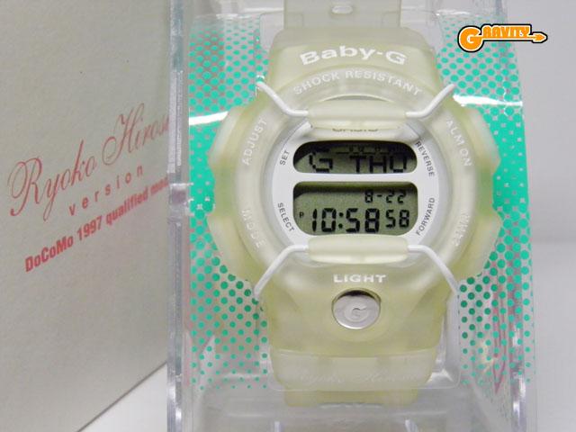 CASIO(カシオ)Baby-G(ベイビージー) 広末涼子 1997 NTT DOCOMO(ドコモ)のポケベル キャンペーンモデル 限定333本 BG-350 懸賞非売品【未使用品】