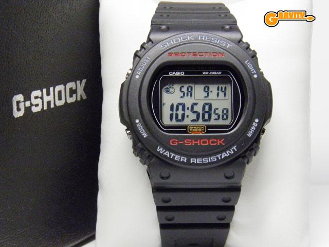 CASIO(カシオ)G-SHOCK(ジーショック) G-5700-1JF  タフソーラースティングモデル 【未使用品】