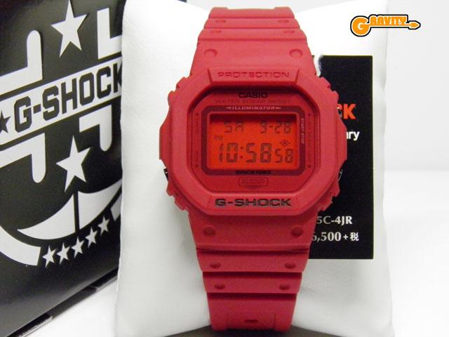 CASIO(カシオ)G-SHOCK(ジーショック)DW-5635C-4JR RED OUT(レッドアウト)35周年アニバーサリーモデル 【未使用品】