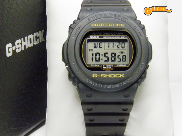 CASIO(カシオ)G-SHOCK(ジーショック)DW-5750SG-8JF G-SHADOW(Gシャドウ)ダークグレースケルトンモデル【未使用品】