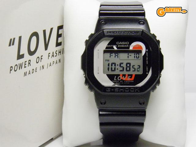"""CASIO(カシオ)G-SHOCK(ジーショック)DW-5600LP-1JR LOVE""""POWER OF FASHION Filip Pagowski(フィリップ・パゴウスキー)東北支援モデル【未使用品】"""
