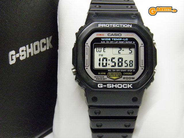 CASIO(カシオ)G-SHOCK(ジーショック)WW-5100C-1 耐低温仕様 1983 G-SHOCKセカンドモデル 【美中古】