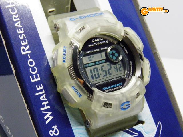 CASIO(カシオ)G-SHOCK(ジーショック)GW-9101K-7JR イルカクジラ(イルクジ)2008モデル ガルフマン【未使用品】
