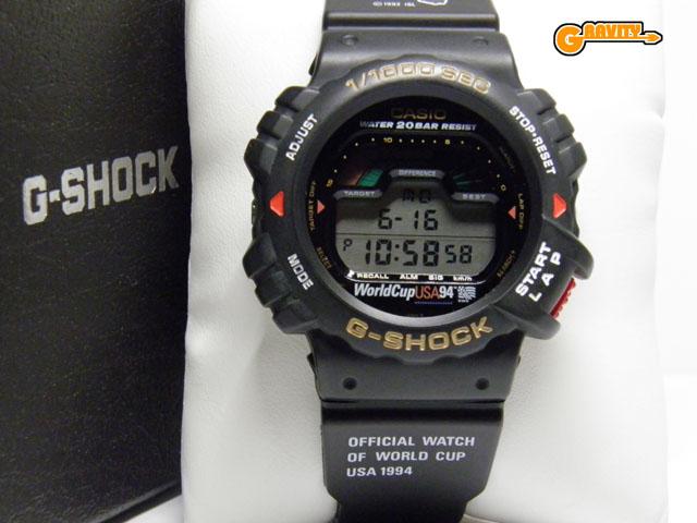 CASIO(カシオ)G-SHOCK(ジーショック)DW-6094‐1B 1994年 サッカーワールドカップ アメリカ大会記念モデル(DW-6000ベース)【未使用品】