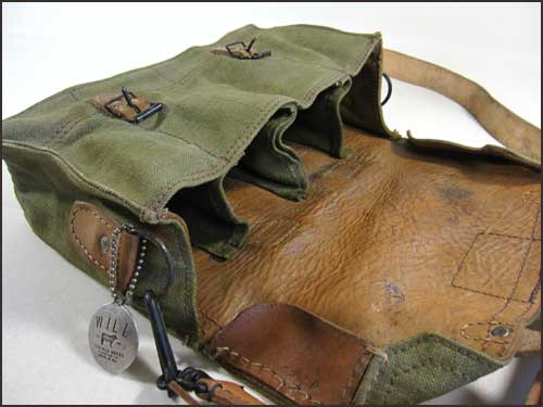 Will Leather Goods Vintage Canvas Camera Bag Ammunition