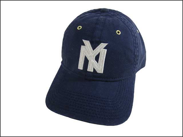 24d970daf2a ... free shipping blue marlin marine nigro league base ball cap new york  black yankees 1935 888fc