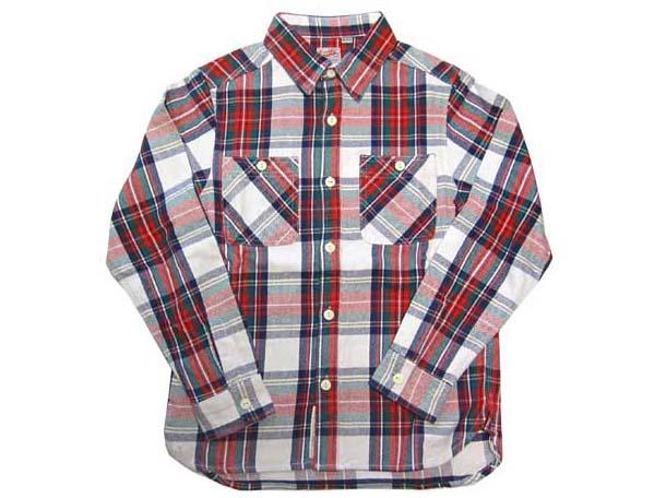 HOUSTON/ヒューストン ビエラワークシャツ チェックシャツ メンズ ネルシャツ パート1  あす楽