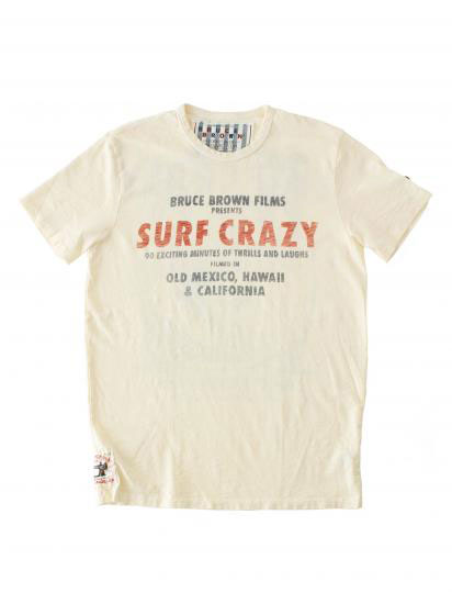 American Life Style Guide Greatblue Buruce Brown Film By Johnson Motors S Endless Summer Tee Old Mexico Surf Dirty White T