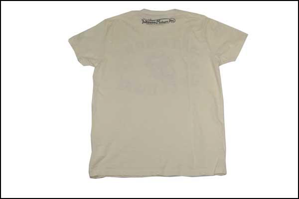 Johnson Motors S T Shirt オルタモントスピードウェイ Dirty White