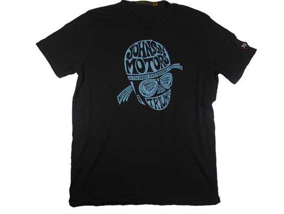 ジョンソンモータース メンズ 半袖 JOHNSON MOTORS S/S Tシャツ「サイクルヘッド」 アメカジ バイカー