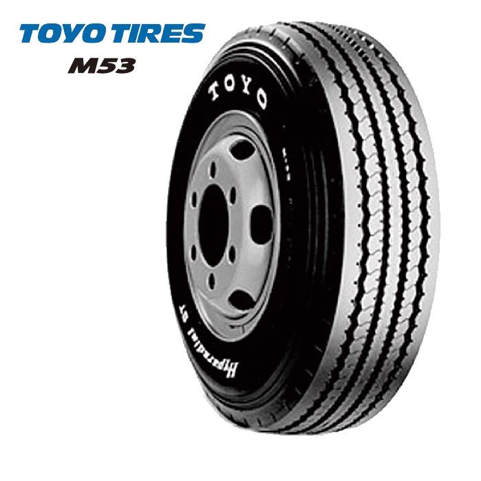 トーヨータイヤ M53 750R16 12PR チューブタイプ◆【送料無料】バン/トラック用サマータイヤ