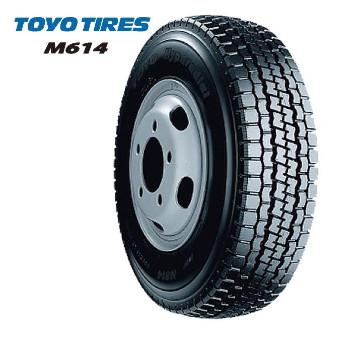 トーヨータイヤ M614 7.00R16 10PR チューブタイプ◆2本以上で送料無料 バン/トラック用サマータイヤ