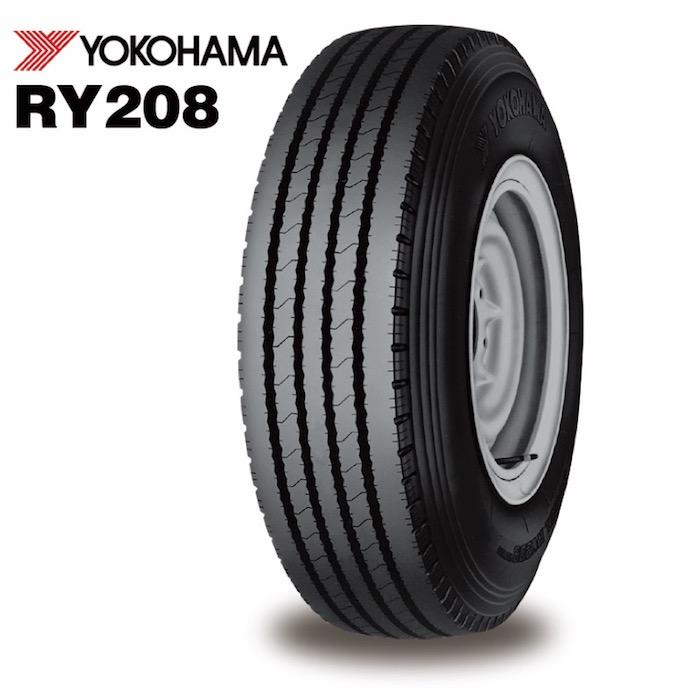 ヨコハマ RY208 チューブタイプ 650R15 8PR◆2本以上で送料無料 バン/トラック用サマ-タイヤ