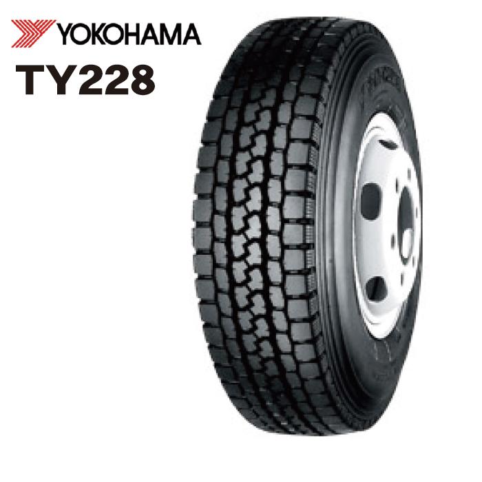 ヨコハマ TY228 チューブタイプ 750R15 12PR◆【送料無料】バン/トラック用サマ-タイヤ