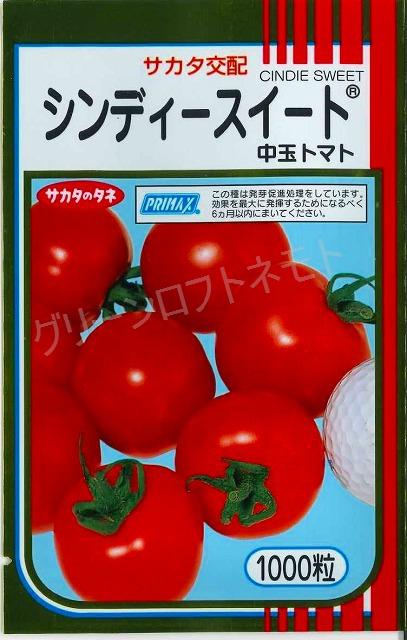 送料無料!中玉トマトシンディースイート1000粒サカタのタネ