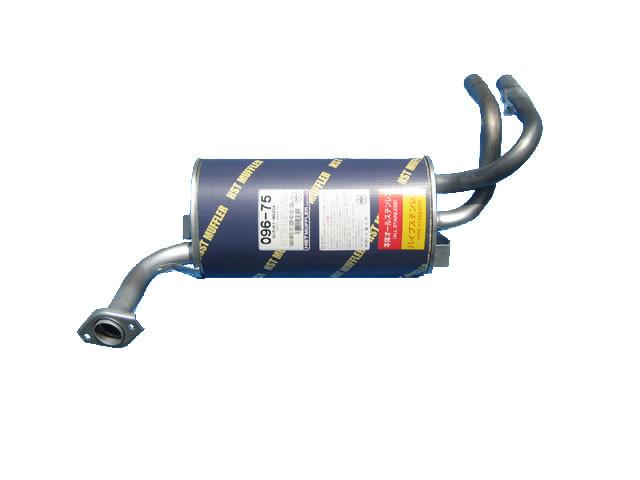 メーカー純正部品 送料無料 HST 軽マフラー R スズキ マツダ 日産 バン 91.09~99.01 スクラム 096-75 DM51V ターボ HST 実物 DL51V. 買収