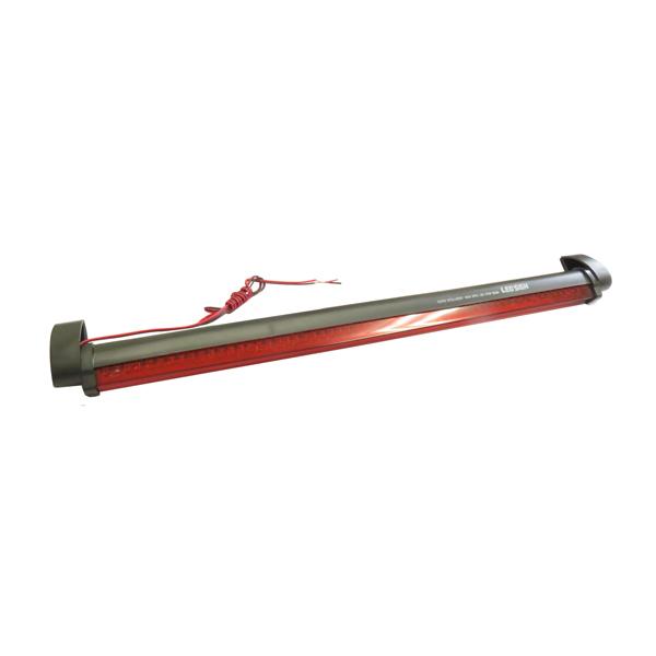 純正ハイマウント と交換するだけ インナー クリスタル メッキ LED ハイマウントストップランプ 60LED 角度調整可能 お値打ち価格で 12V ブレーキランプ レッド 汎用 補助ブレーキ灯 LEDランプ 返品送料無料 赤 両面月テープ付き