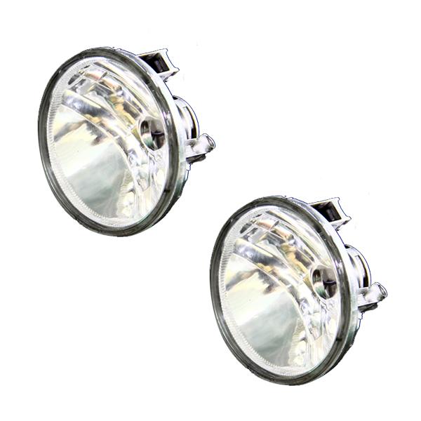【送料無料】 ガラスレンズ製 フォグランプ ハイエース 200系 4型 IV型 2個セット 【フォグライト ユニット 本体 フロント エアロ バンパー フォグユニット メッキ 純正交換 HID LED ヘッドライト バルブ PSX26 との相性抜群】