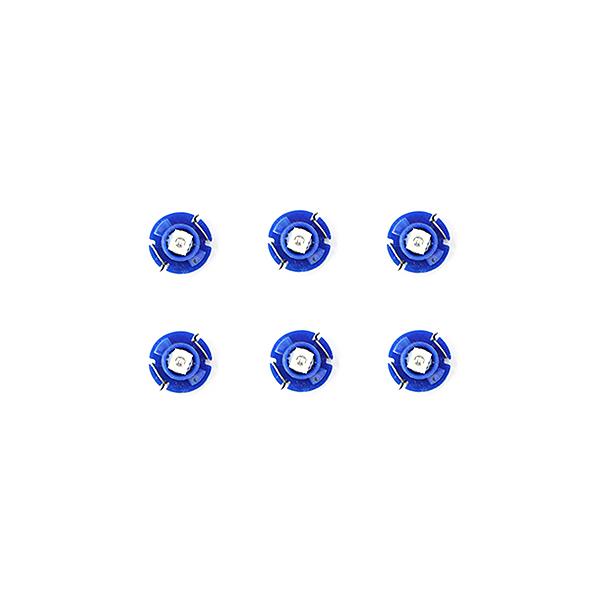 スーパーSALE セール期間限定 10%OFF メール便送料無料 エアコンパネルLED オデッセイ RA6 RA7 RA8 発売モデル RA9 H11.12~H15.9 ブルー 青 エアコンLED ホンダ オート デジタル表示 電球 ランプ ドレスアップ バルブ T4.2 超定番 パネル 内装 イルミ AC T4.7 T5 ライト T3 インテリア