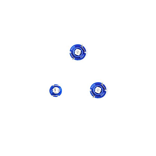 スーパーSALE セール期間限定 10%OFF メール便送料無料 エアコンパネルLED MR2 SW20系 H1.10~H11.10 超目玉 ブルー 青 超激安 エアコンLED トヨタ マニュアル.アナログ表示 T3 ライト パネル T4.7 ランプ インテリア AC イルミ 電球 ドレスアップ T5 T4.2 内装 バルブ