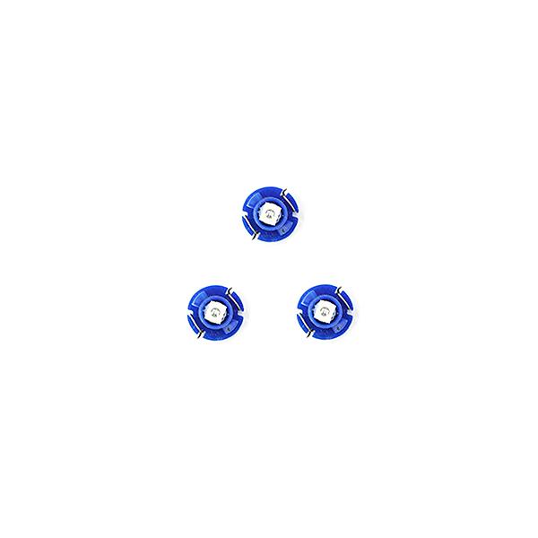 スーパーSALE セール期間限定 10%OFF 国産品 メール便送料無料 エアコンパネルLED カローラレビン AE101 H3.6~H7.4 ブルー 青 エアコンLED トヨタ マニュアル.アナログ表示 T3 インテリア 電球 バルブ ランプ パネル ドレスアップ AC T4.2 イルミ ライト T4.7 お買得 T5 内装