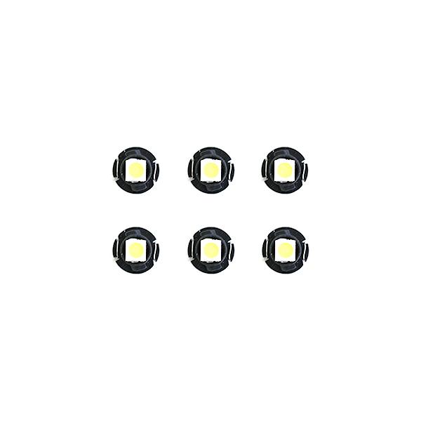 スーパーSALE セール期間限定 10%OFF メール便送料無料 エアコンパネルLED オデッセイ LA6 RA6 LA7 希望者のみラッピング無料 RA7 BF H13.11~H14.10 ホワイト 白 エアコンLED ホンダ ドレスアップ ライト T4.2 T5 ランプ AC T3 オート 内装 デジタル表示 T4.7 パネル イルミ バルブ インテリア 新作続 電球
